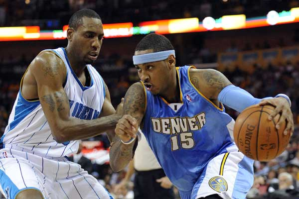 1 nuggets hornets blowout 2009 - lopsided nba playoff losses biggest margins of victory