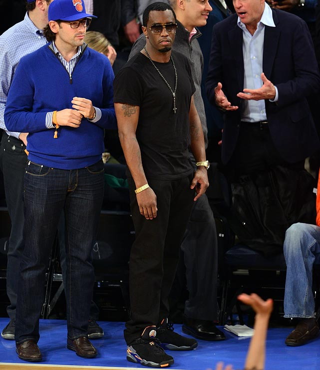 11 sean p diddy combes knicks celtics game 2 - celebrities at 2013 nba playoffs