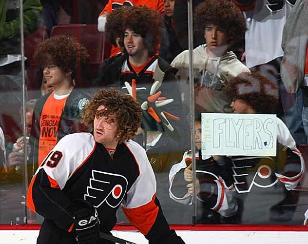 16 scott hartnell haircut - classic hockey hair