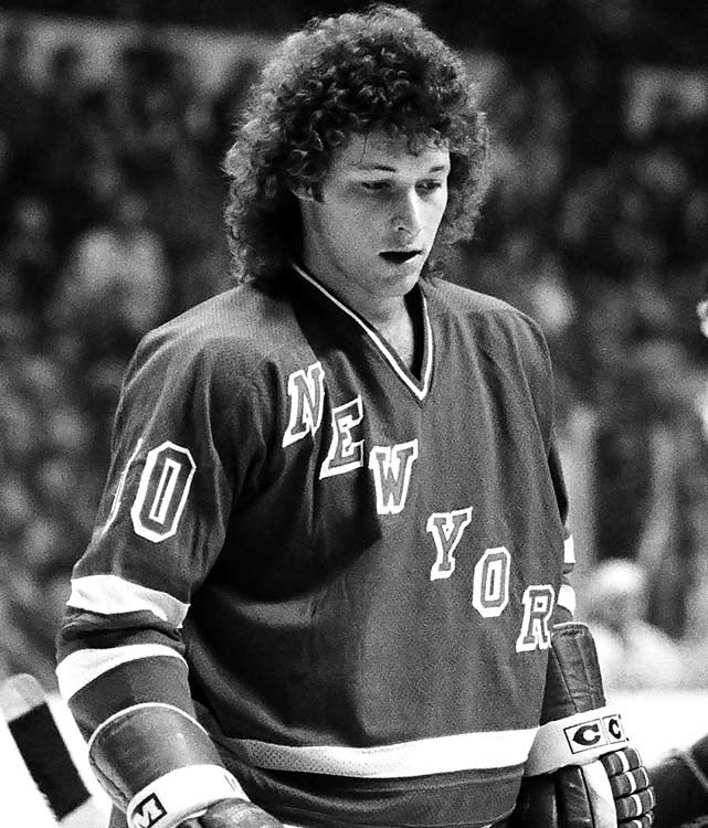 18 ron duguay rangers - classic hockey hair