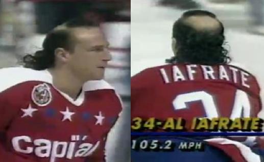 2 al iafrate - classic hockey hair