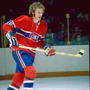24 larry robinson fro - classic hockey hair