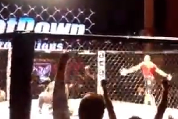 4 second mma knockout