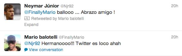 mario balotelli tweets