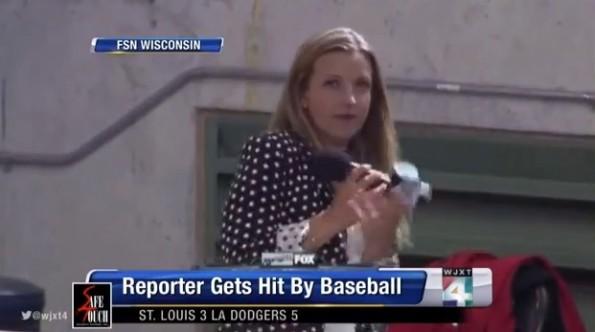 Sophia Minnaert sideline reporter