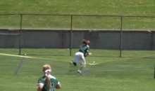 Ohio University Softballer Runs Through Fence In Incredible Game-Winning Catch (Video)