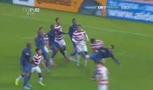 France's Alexandre Coeff Scores Amazing Scorpion Kick Goal Vs. USA (Video)