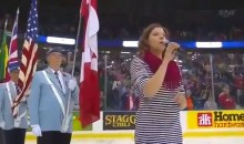 Star-Spangled Banner Gets Butchered During Memorial Cup (Video)