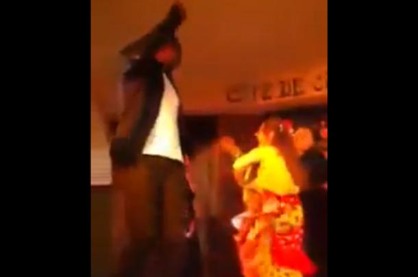andrew bynum flamenco dancing in spain