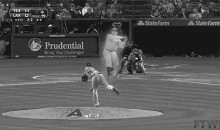 Watch Yu Darvish Strike Out Babe Ruth and Other GIFs of Baseball Legends vs. Current All-Stars