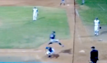 Franklin High School Baseball Player Hurdles Catcher to Score Run (Video)