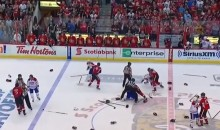 Canadiens and Senators Engage in Epic Playoff Line Brawl (Videos)