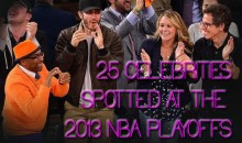 25 Celebrities Spotted at the 2013 NBA Playoffs