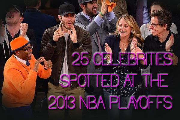 celebrities 2013 nba playoffs