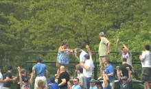 Wife Gives Husband a Beer Shower At Cubs Game (Video)