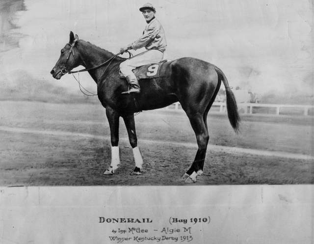 donerail 1913 kentucky derby winner