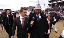 Son of Horse Trainer Doug O'Neill Was a Total Gangsta at the 2013 Kentucky Derby (GIF)
