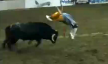 This Video of an Acrobatic Rodeo Clown Will Make Your Day (Video)