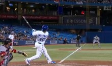 Edwin Encarnacion Became Just the 14th Player to Hit a Home Run into the Upper Deck at the Rogers Centre in Toronto (Video)
