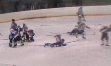 Yet Another Bench-Clearing Brawl from a Russian Youth Hockey Game (Video)