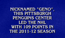 Evgeni Malkin Was an Answer on College Jeopardy, But Apparently Kids at Tufts University Don't Watch a Lot of Hockey (Video)