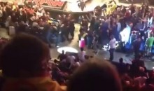 Fan Fight in the Stands During 'Monday Night Raw' Steals Attention from Main Event in the Ring (Video)