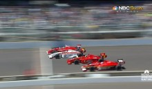 There Was a Four-Wide Photo Finish at the Indy Lights Race in Indianapolis Today (Video)