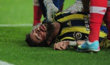 Turkish Soccer Player Gets Knocked Out Cold by Flying Kick to the Head (GIF + Video)