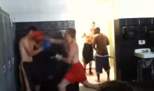 This High School Change Room Boxing Match was One-Sided (Video)