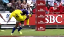 This Rugby Hit by Lolo Lui Is as Hard as They Come (Video)
