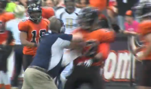 Indoor Football Coach Attacks Opposing Running Back, Gets Suspended for the Season (Video)