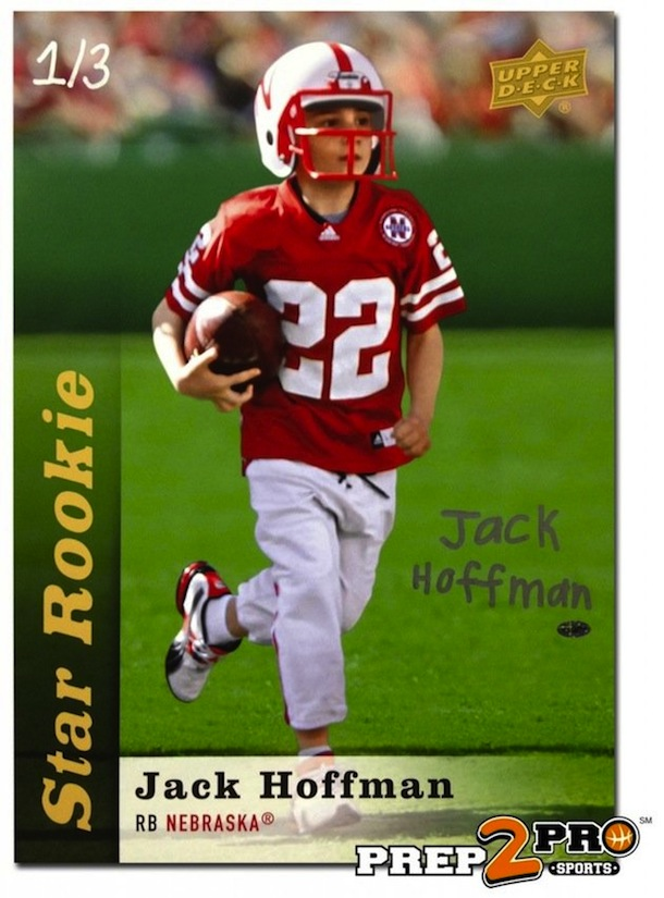 jack hoffman rookie card