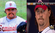 There's a Kenny Powers Look-alike on the Florida State Baseball Team (Pics)