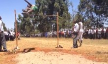 Kenyan High Jumpers Sure Can Jump High (Video)