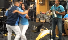 Latino Band Plays Gig in Rays Clubhouse Before Game Against the Red Sox (Video)