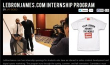 Wanna Be An Intern For LeBron James?  Here's How!