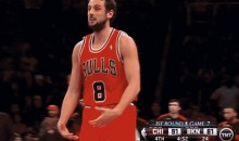 "Bulls' Marco Belinelli Fined $15K for ""Big Cojones"" Gesture During Game 7 vs Nets (GIF)"