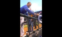 "Matt Kemp Gives His Gear to a Dodgers Fan ""Fighting a Tough Battle"" (Video)"