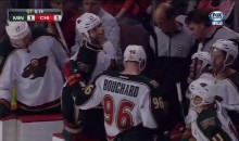 Wild's Mike Rupp Breaks His Skate Blade, Hilarity Ensues (Video)