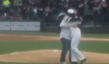 Navy Daughter Gives Mom Surprise Homecoming at White Sox Game for Mother's Day (Video)