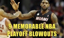 9 Memorable NBA Playoff Blowouts
