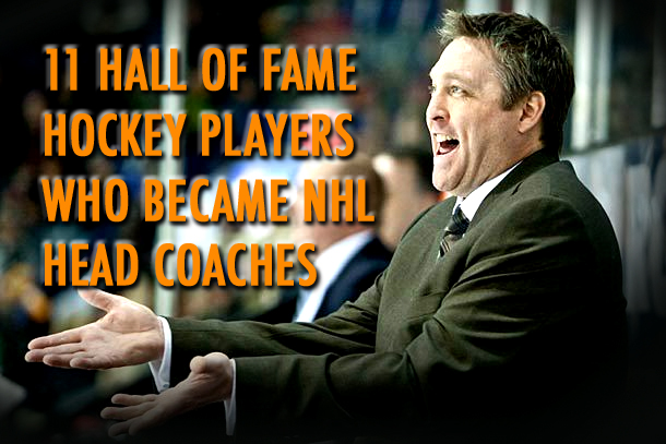 nhl hall of fame players turned coaches