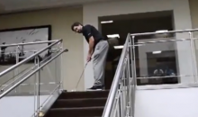 Check Out This Incredible Office Hole-In-One Putt (Video)