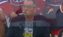 The Paul MacLean Doppelganger Is Back, and this Time He's Behind the Opposing Team's Bench (Video)