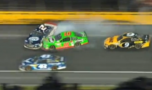 Danica Patrick Knocked Out of Coca-Cola 600 by Her Own Boyfriend, Ricky Stenhouse. Awkward! (Video)