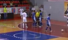 Serbian Soccer Referee Headbutts Player, Gets Arrested (Video)