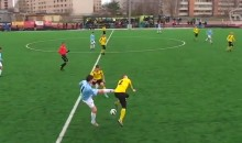 Soccer Player Kicks Opponent to the Ground, Then Kicks the Ball at Him (Video)
