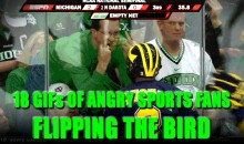 18 GIFs of Sports Fans Flipping the Bird
