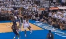 Tayshaun Prince Posterized Half the Thunder's Team With One Dunk (Video)