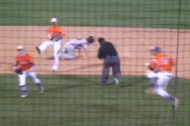 trick play high school baseball championship